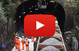 Video of Linklites being used by Network Rail - Sydney Gardens rail track lowering